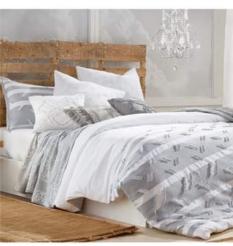 Peri Home Stripe Fringe Duvet Cover