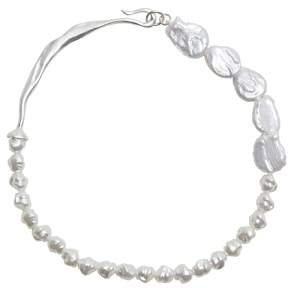 MANGO Pearl necklace