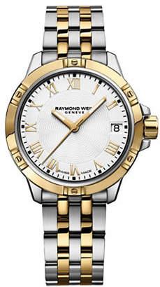 Raymond Weil 30mm Tango Two-Tone Stainless Steel Bracelet Watch
