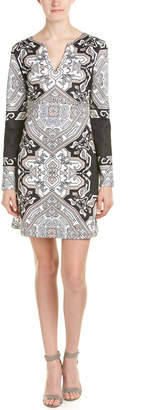 Hale Bob Printed A-Line Dress