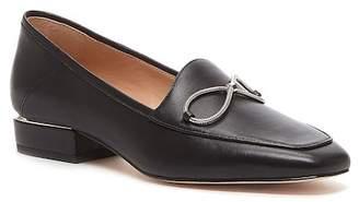 Pour La Victoire Seka Leather Bow Loafer
