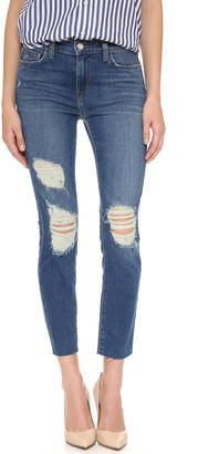 L'AGENCE Marcelle Slim Fit Jeans $255 thestylecure.com