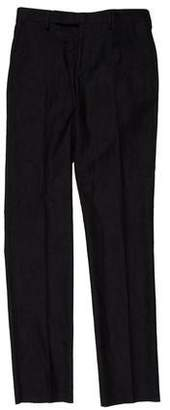 Paul Smith Embroidered Wool Pants w/ Tags
