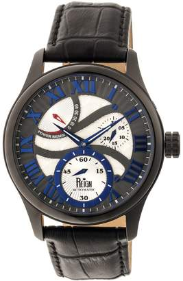 Reign Bhutan Automatic Watch - Black/Blue