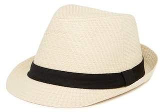 Levi's Hat Band Straw Fedora