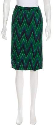 Rachel Comey Ikat Knee-Length Skirt