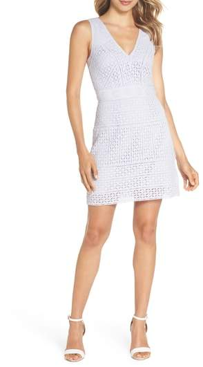 Schiffley Summer Cage Cotton Dress