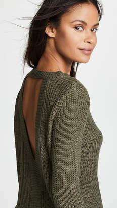 BB Dakota Jack by Know Thy Self Back Cutout Sweater