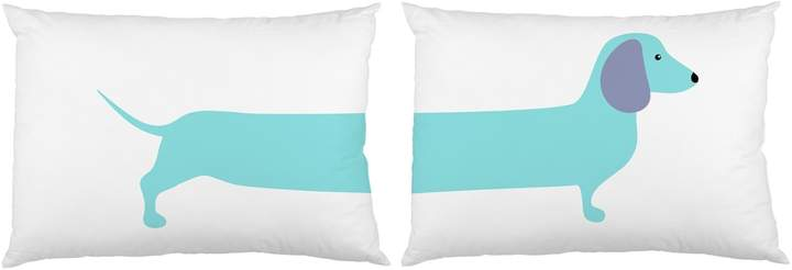 One Bella Casa Long Doxie Pillowcases (Set of 2)