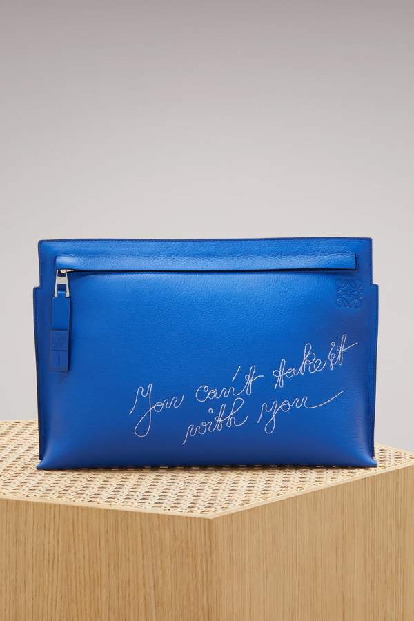 Loewe T Pouch Cant Take It Bag