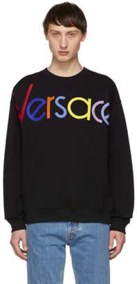 Versace Black Vintage Logo Sweatshirt