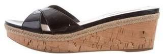 Prada Sport Slide Wedge Sandals