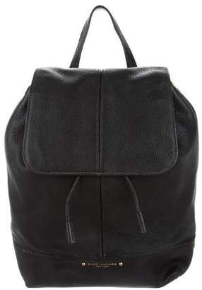 Marc Jacobs Leather Drawstring Backpack