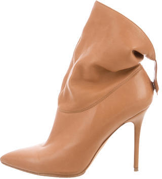 Brian Atwood Leather Ankle Boots $175 thestylecure.com
