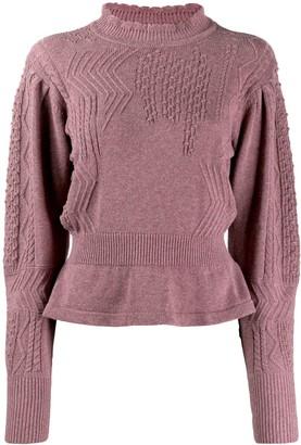 Etoile Isabel Marant peplum hem sweater