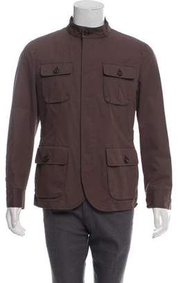Brunello Cucinelli Lightweight Military Jacket w/ Tags