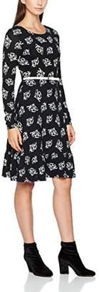 Yumi Women's Oriental Fan Dress,8