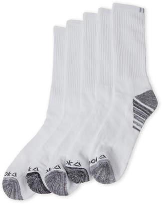Reebok 5-Pack Performance Training Crew Socks