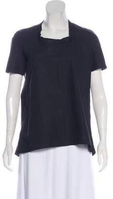 Marni Short Sleeve Scoop Neck Top