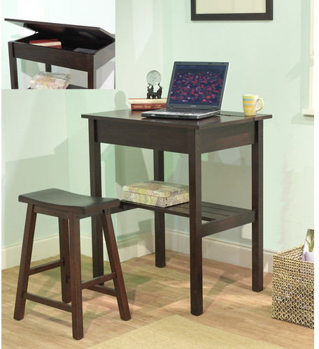 STUDY TMS Lincoln 2 Piece Writing Desk Set