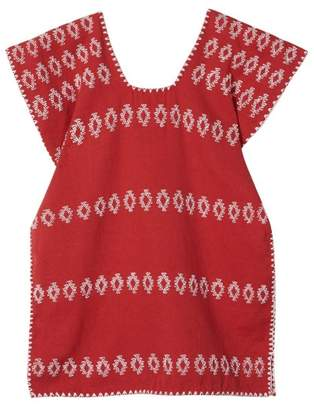 Pippa Holt Kids - No. 2 Embroidered Kaftan - Womens - Red White