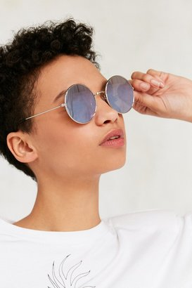 Urban Outfitters Daisy Round Metal Sunglasses $16 thestylecure.com