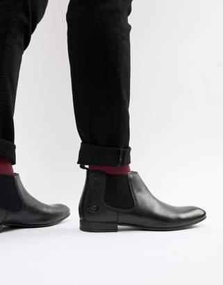 Base London Croft chelsea boots in black