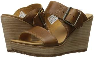 Timberland Brenton Buckle Slide Women's Wedge Shoes