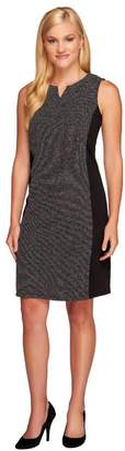 Liz Claiborne New York Petite Ponte Knit Dress