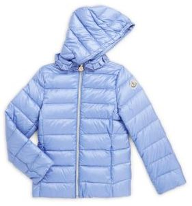 Little Girl's Solid Zip-Front Hoodie $395 thestylecure.com