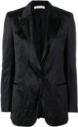 Philosophy di Lorenzo Serafini creased longline blazer