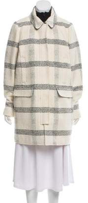 Tory Burch Knit & Down Coat