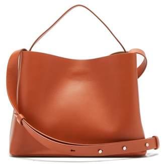 Aesther Ekme - Sac Leather Mini Crossbody Bag - Womens - Tan
