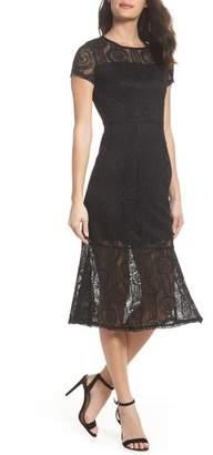 NSR Lace Midi Dress