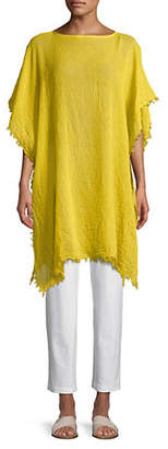 Eileen Fisher Cotton Gauze Poncho