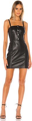 BB Dakota Nice & Cool Vegan Leather Dress
