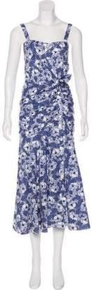 Veronica Beard Sleeveless Maxi Dress