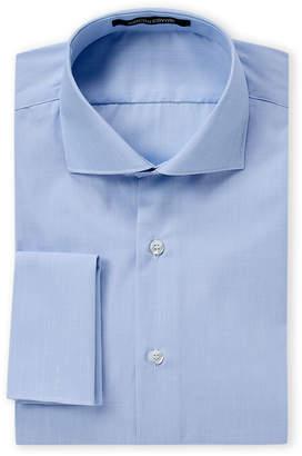 Roberto Cavalli Blue French Cuff Dress Shirt
