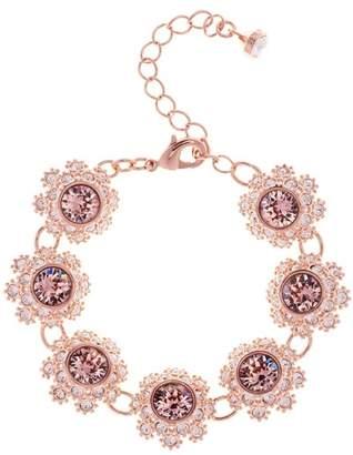 Ted Baker Crystal Daisy Lace Station Bracelet