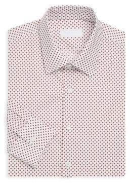 Prada Star-Print Cotton Dress Shirt
