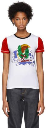Loewe White and Red Holiday T-Shirt