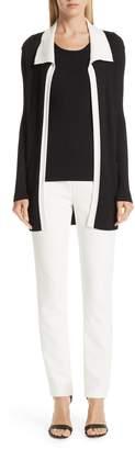 St. John Bella Double Weave Skinny Pants