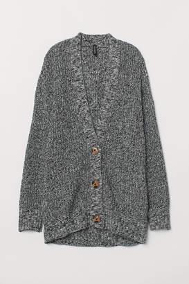 H&M Oversized Cardigan - Black