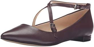 Nine West Women's Anastagia Leather Pointed Toe Flat