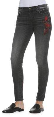Driftwood Bird Paradise Embroidered Jeans