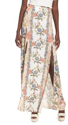 Show Me Your Mumu Floral Maxi Skirt