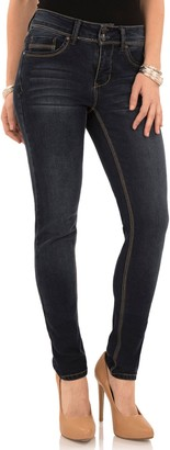 Angels Women's Curvy Fit Skinny Jeans