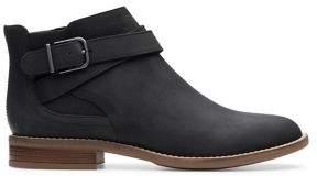 Clarks Camzin Hale Leather Booties