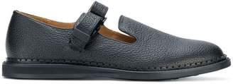Hender Scheme buckled strap loafers