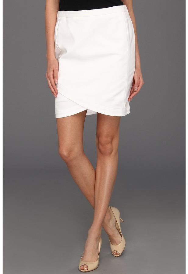 Kenneth Cole New York - Shantora Skirt (White) - Apparel